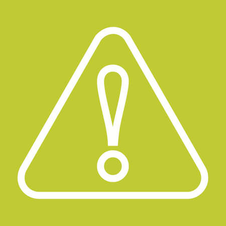 precaution: Wanrning, sign, warning sign icon vector image. Can also be used for construction, interiors and building. Suitable for use on web apps, mobile apps and print media. Illustration
