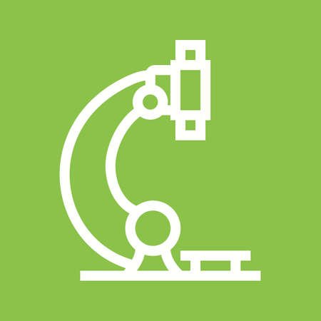 magnification: Microscope, science, laboratory icon vector image. Can also be used for healthcare and medical. Suitable for mobile apps, web apps and print media.