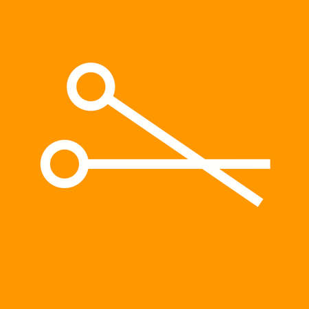 operate: Scissors, cut, scissor, surgical icon vector image. Can also be used for healthcare and medical. Suitable for web apps, mobile apps and print media. Illustration
