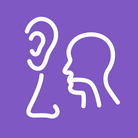 ear nose throat: Ear, nose, throat, ent, icon vector image. Can also be used for healthcare and medical. Suitable for web apps, mobile apps and print media.