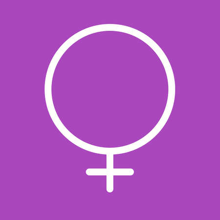 female sign: Female, female sign, woman icon vector image. Can also be used for healthcare and medical. Suitable for mobile apps, web apps and print media.