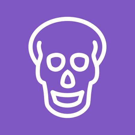 medical scans: Skull, xray,head,trauma icon vector image. Can also be used for healthcare and medical. Suitable for mobile apps, web apps and print media.