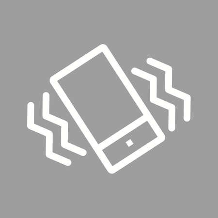 vibran: Modo de imagen m�vil, vibraci�n del icono del vector. Tambi�n se puede utilizar para aplicaciones m�viles, barra de pesta�as de tel�fono y la configuraci�n. Adecuado para su uso en aplicaciones web, aplicaciones m�viles y material de impresi�n