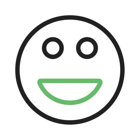 happy client: happy icon Illustration