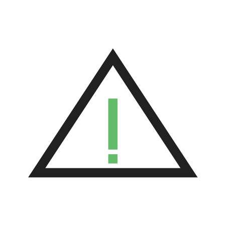 exclamation icon: Warning, mark, exclamation icon Illustration