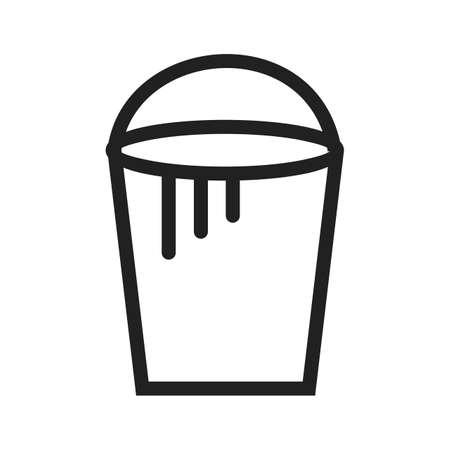 toner: Bucket paint icon