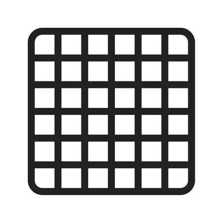 grid: Pattern, grid icon Stock Photo