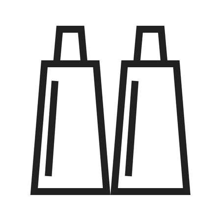 paint tube: Paint tube icon Illustration