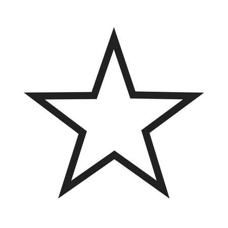 Ster, sterren, vector afbeelding award icoon. Kan ook gebruikt worden voor het vormen en geometrie. Geschikt voor gebruik op het web apps, mobiele apps en gedrukte media.