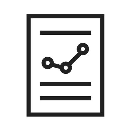balance sheet: Financial report, balance sheet, income statement icon vector image. Can also be used for business, finance, technology, economics and accounting. Suitable for web apps, mobile apps and print media.
