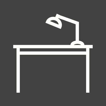 Table desk icon
