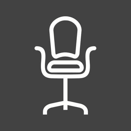 revolving: Chair seat icon