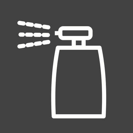 pressure bottle: Icono de aerosol Botella