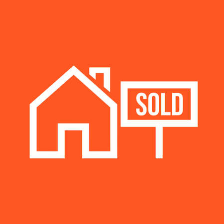 sold: Sold house icon