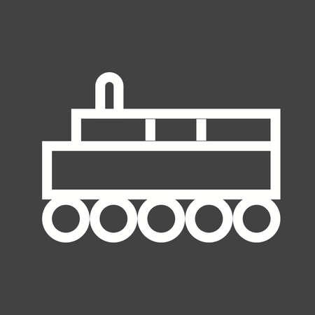 Train icon Stock Vector - 43855315
