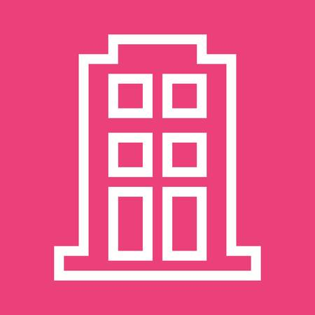 townhouse: Apartment building icon