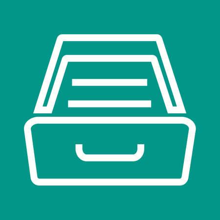 drawer: Drawer icon Illustration