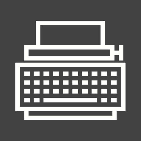 type writer: Typewriter icon