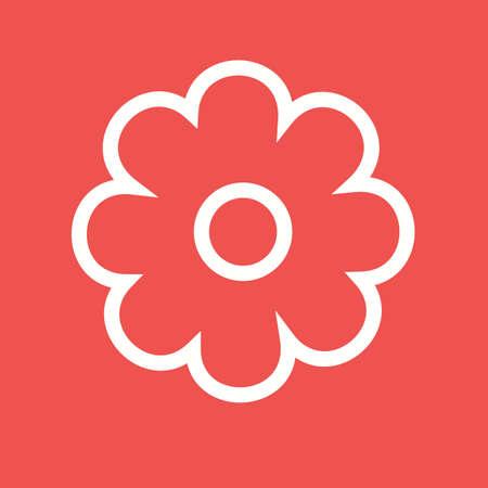 flower rose: Flower rose icon