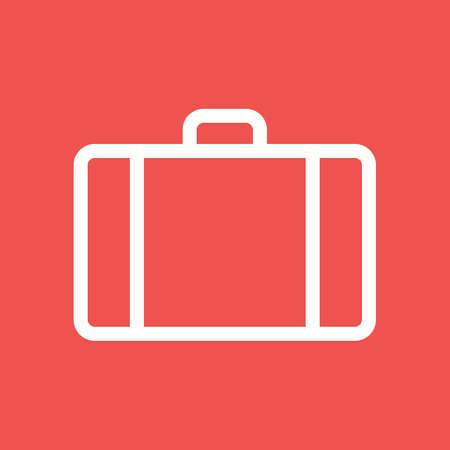 suit case: Suitcase, luggage icon Illustration