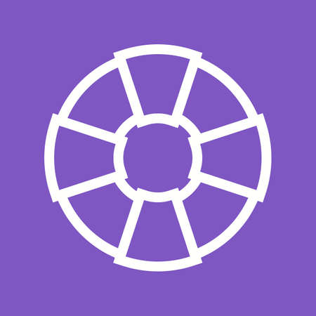 life saver: Floating tire icon