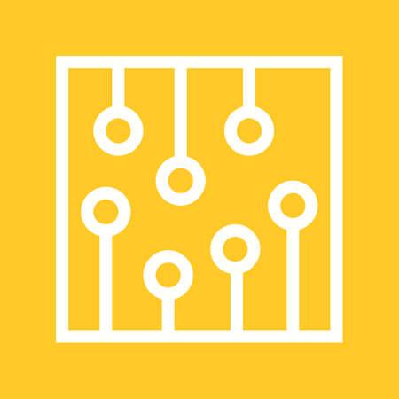 ic: Circuit, ic processor icon