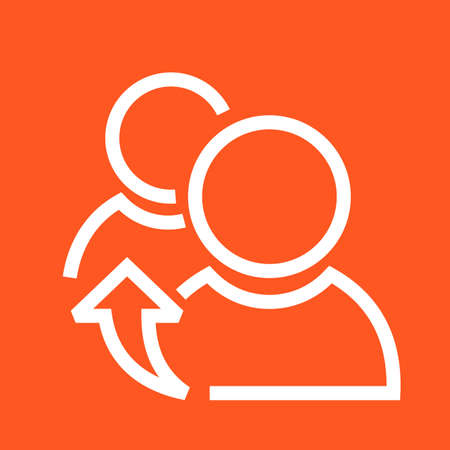referrals: Referrals, reference, meeting icon vector image.Can also be used for admin dashboard. Suitable for mobile apps, web apps and print media. Illustration