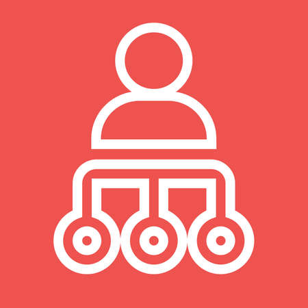 dominują: Manage, handle, organize icon vector image.Can also be used for admin dashboard. Suitable for mobile apps, web apps and print media.