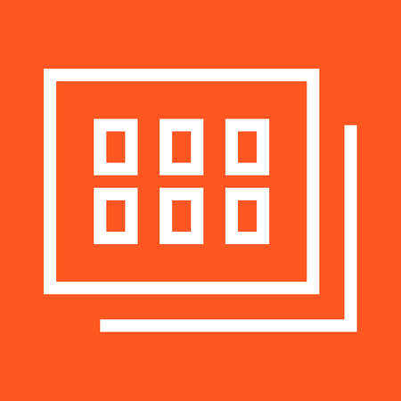 pic  picture: Gallery, images, photo icon vector image.Can also be used for admin dashboard. Suitable for mobile apps, web apps and print media.