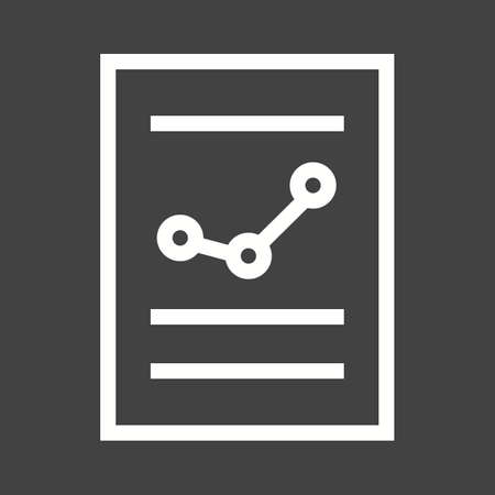 balance: Financial report, balance sheet, income statement icon vector image.