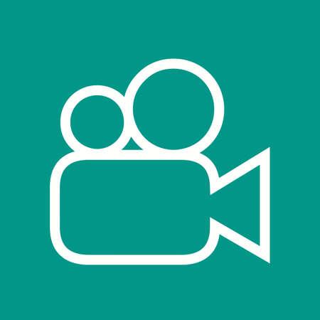 動画、画像、ムービー アイコン ベクトル画像。携帯電話と通信の使用もできます。Web アプリ、携帯アプリ、印刷媒体での使用に適しています。 写真素材