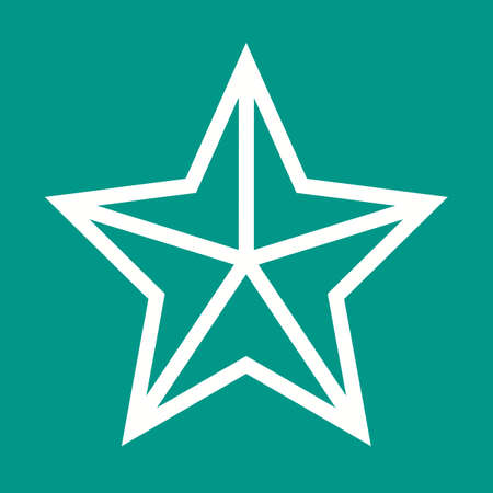 star award: Star, award, prize icon vector image.Can also be used for christmas, celebrations, observances and holidays. Suitable for use on web apps, mobile apps and print media.