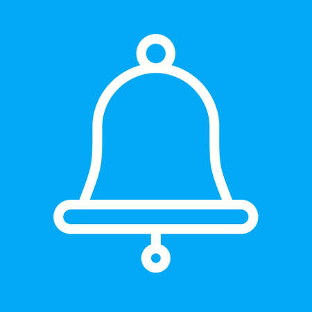 mobile apps: Bell, christmas, alarm icon vector image.Can also be used for christmas, celebrations, observances and holidays. Suitable for use on web apps, mobile apps and print media.