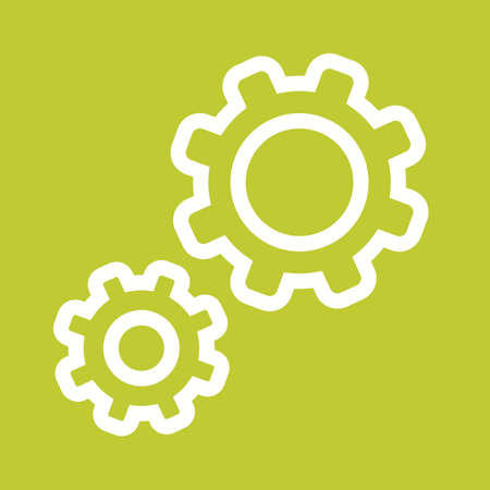 configurations: Change, configurations, control icon vector image. Can also be used for computer hardware, computer network and connection. Suitable for use on web apps, mobile apps and print media.
