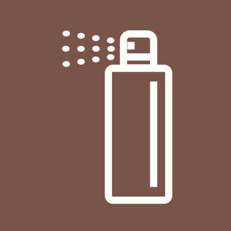 paint can: Spray, can, paint icon vector image.