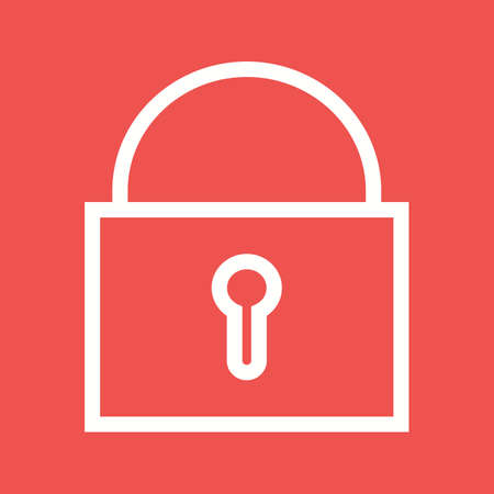 locked the door: Lock, jail, bars icon vector image.Can also be used for law and order. Suitable for mobile apps, web apps and print media. Illustration