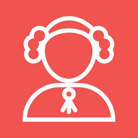 orden judicial: Juez, corte, icono de la responsabilidad vectorial image.Can tambi�n ser utilizado para el orden p�blico. Adecuado para aplicaciones m�viles, aplicaciones web y medios impresos. Vectores