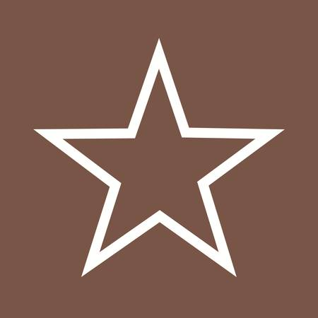 latitude: Star, stars, award icon vector image. Can also be used for shapes and geometry. Suitable for use on web apps, mobile apps and print media.