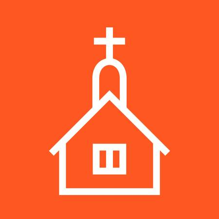 church bell: Church, cross, easter icon vector image. Can also be used for wedding. Suitable for use on web apps, mobile apps and print media.