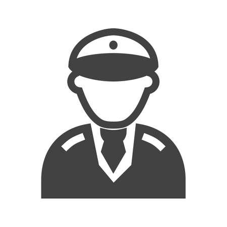 piloto: Piloto, helicóptero, icono aerolínea vector de imagen. También se puede utilizar para profesionales. Adecuado para aplicaciones web, aplicaciones móviles y los medios impresos.