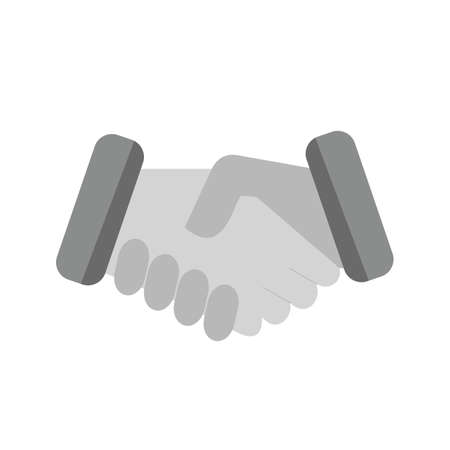 partnership icon: Handshake, partnership, deal icon vector image. Can also be used for real estate, property, land and buildings. Suitable for mobile apps, web apps and print media.