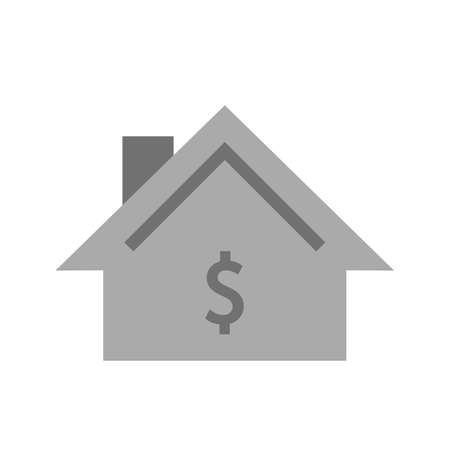 residential housing: Residential, housing, property icon vector image. Can also be used for real estate, property, land and buildings. Suitable for mobile apps, web apps and print media. Stock Photo