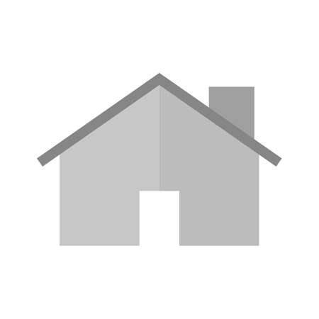appartment: House, home, estate icon vector image. Can also be used for real estate, property, land and buildings. Suitable for mobile apps, web apps and print media. Stock Photo