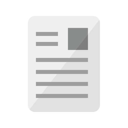 article marketing: Article, page, document, data icon vector image. Can also be used for seo, digital marketing, technology. Suitable for use on web apps, mobile apps and print media. Illustration
