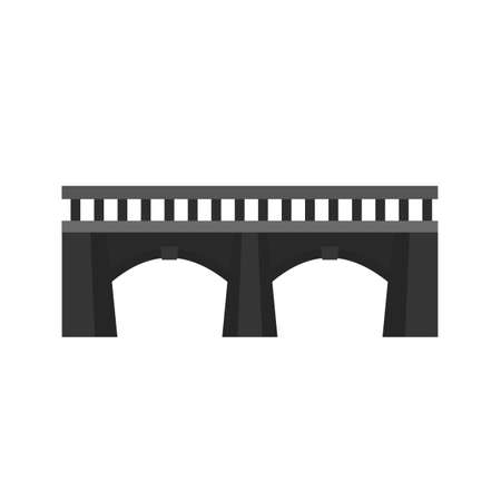 coastal: Bridge, gate, watericon vectgor image. Can also be used for transport, transportation and travel. Suitable for mobile apps, web apps and print media.