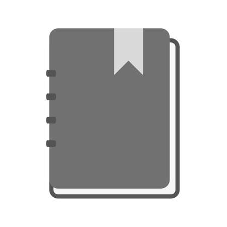 memo pad: Paper, notebook, notepad icon vector image. Can also be used for education, academics and science. Suitable for use on web apps, mobile apps and print media.
