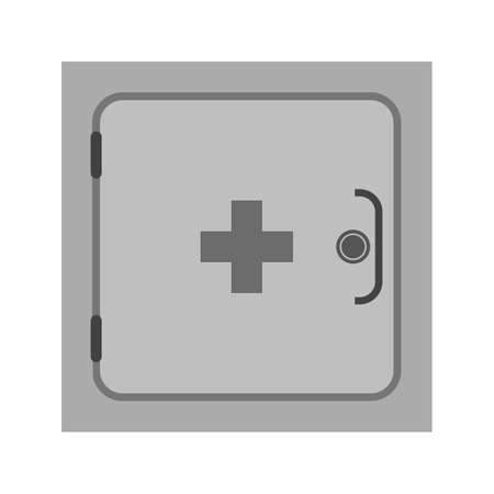 medical cabinet: Medicine, cabinet, pharmacy icon vector image. Can also be used for healthcare and medical. Suitable for mobile apps, web apps and print media.
