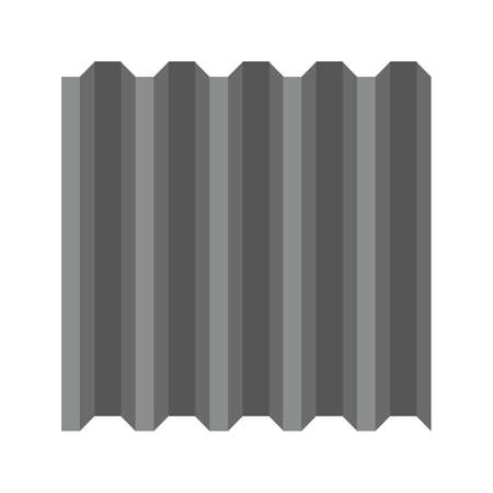 metal sheet: Metal, sheet, aluminum icon vector image. Can also be used for construction, interiors and building. Suitable for use on web apps, mobile apps and print media. Illustration