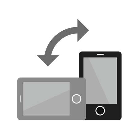 Auto, rotation, mobile icon vector image. Can also be used for mobile apps, phone tab bar and settings. Suitable for use on web apps, mobile apps and print media