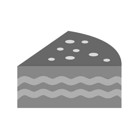 fudge: Cupcake, chocolate, fudge icon vector image. Can also be used for sweets and confectionery. Suitable for use on web apps, mobile apps and print media.